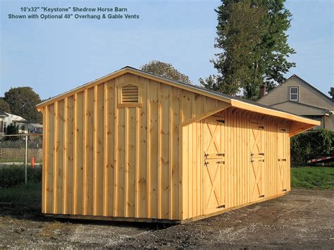 shed row barns for horses shedrow barns from lancaster amish builders