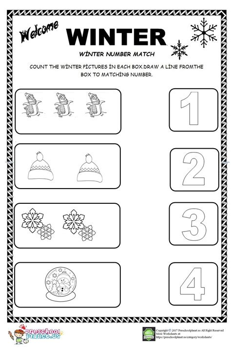 preschool worksheets for winter newest winter worksheets for kindergarten goodsnyc