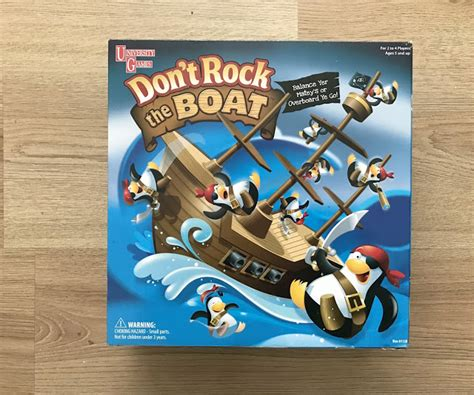 Dont Rock The Boat Family by Yeti In My Spaghetti Don T Rock The Boat Review