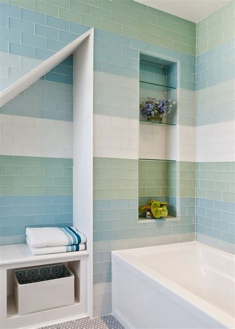 Feng Shui Color For Bathroom by Serene Bathroom With Soothing Tile Colors Reiko Feng Shui