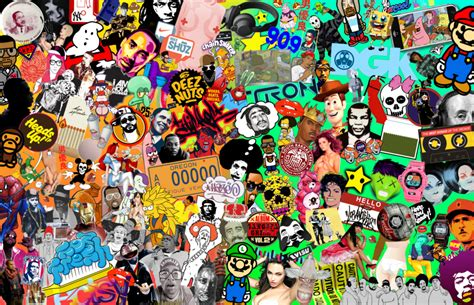 Windows 98 Desktop Background Pop Art And Culture Collage By Jeramiah327 On Deviantart