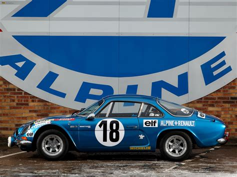 Renault Alpine A110 Rally Car wallpapers (2048x1536)