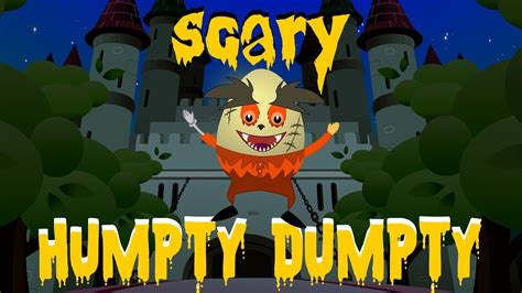 humpty dumpty scary rhymes halloween songs halloween