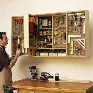Shop-in-a-box tool cabinet Woodworking Plan from WOOD Magazine