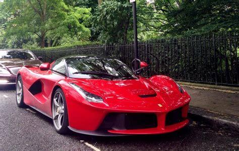 This Is Uk's First Ferrari Laferrari
