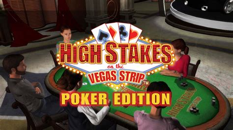 high stakes   vegas strip poker edition game ps playstation