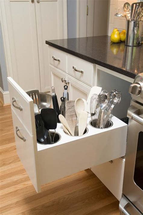 custom kitchen islands that look like furniture top 27 clever and diy cutlery storage solutions