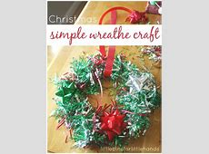Styrofoam Tree Decorating Christmas Craft Activity for Kids
