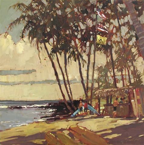 surf shack  darrell hill hawaii based artist art