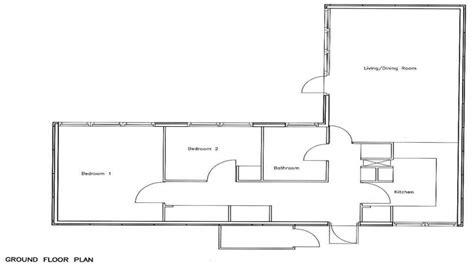 bedroom bungalow floor plan  bedroom house simple plan plan bungalow treesranchcom
