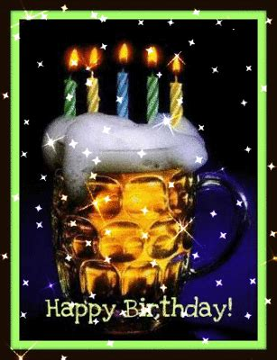 happy birthday beer  candles happy birthday