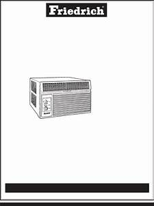 Friedrich Air Conditioner Ks10j10 User Guide