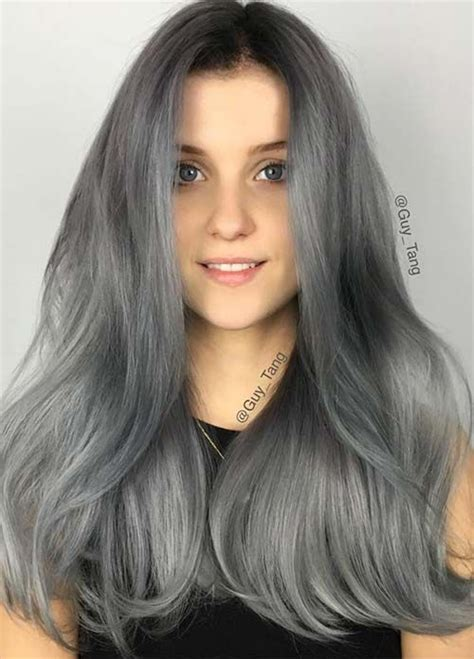 color gray hair 85 silver hair color ideas and tips for dyeing