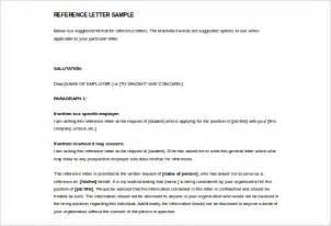 reference letter template 37 free sle exle