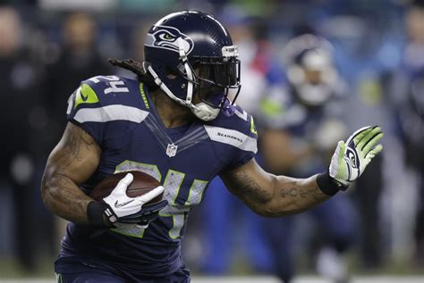 seahawks list marshawn lynch  probable  panthers