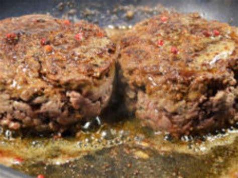 cuisine steak haché recettes de steak et steak haché