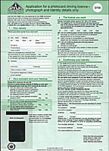 How to apply for a provisional driving licence a pass 4 for Apply for driving license uk