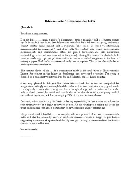sample of recommendation letter samples of reference letter recommendation letter pdf may 24664 | 1464806104