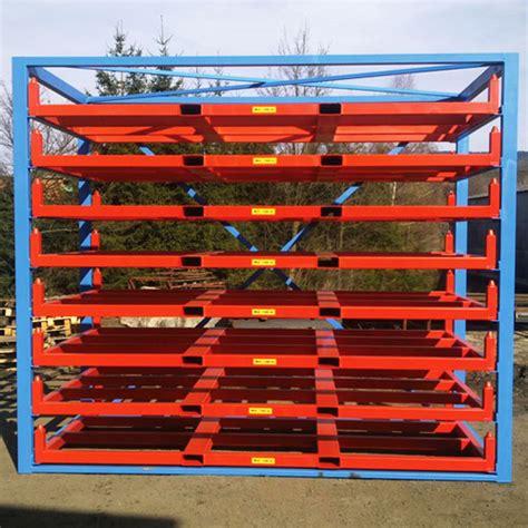 metal sheet forklift rack eurostorage storage sheets  profiles