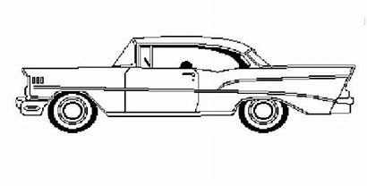 Coloring Pages Classic Cars Corvette Chevy Sheets