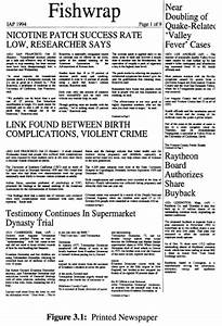 positioning automated newspaper layout with tex and With latex newspaper template
