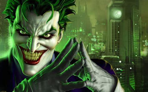 joker 3d hd dc batman comic cartoon knight dark face wallpapers desktop game games
