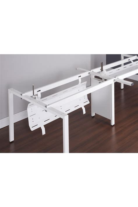 desk with pull down cover adapt ii central drop down cable tray bracket ed12dct