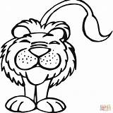 Coloring Pages Lion Lions Library Noodle Twisty Ll Smiling Clipartmag Tracing Outline Text Twistynoodle Popular sketch template
