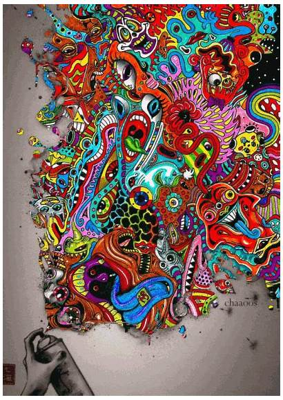 Paint Psychedelic Trippy