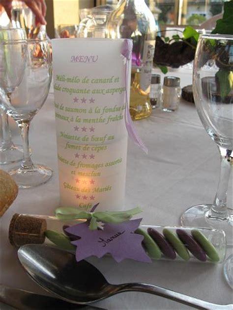 menu photophore pas cher menu de mariage
