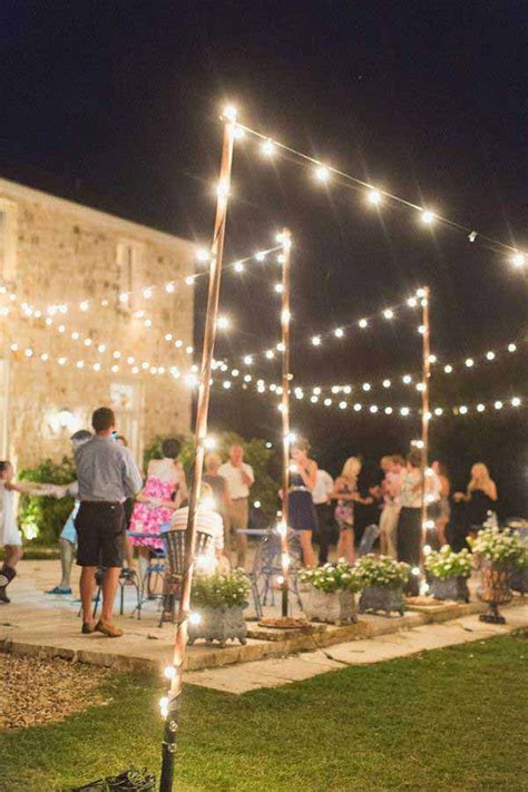25 best ideas about patio string lights on