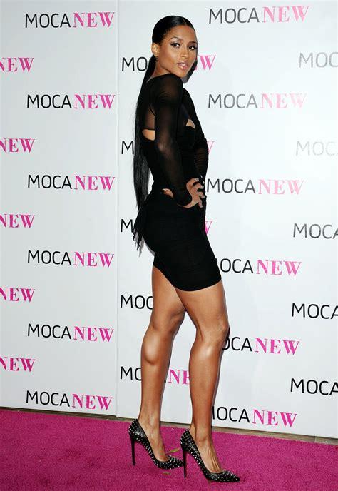 ciara sexy sexy ciara in black sexy leg cross