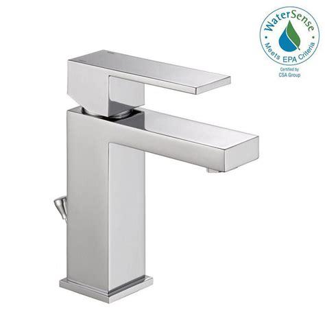 recaulking kitchen sink delta modern single single handle bathroom faucet in 1733