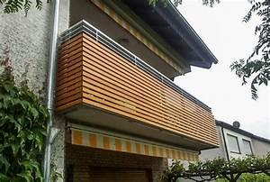 balkon aus stahl und holz wartungsfrei und bestandig With französischer balkon mit moderne gartenzäune aus metall