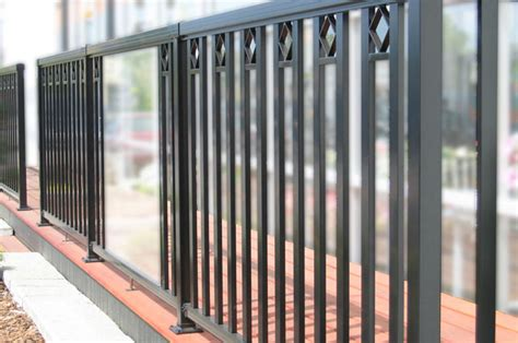 Deck Baluster Spacing Code Canada by Home Railblazers Aluminum Railing