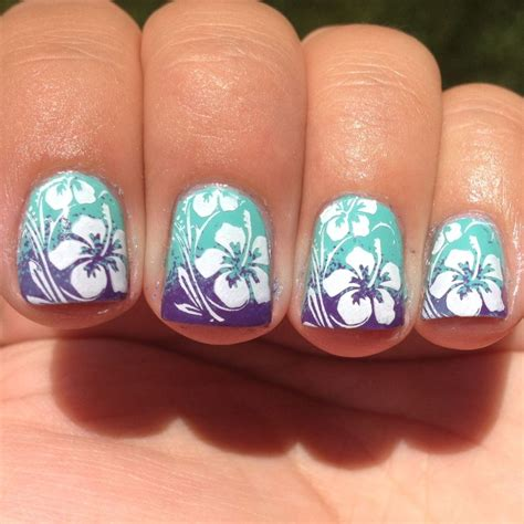tropical nail designs tropical nail top 15 summer nail ideas 15 nail