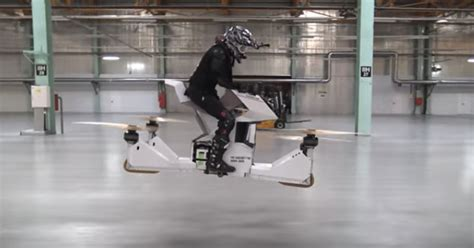 hoversurf creates  manned hoverbike prototype
