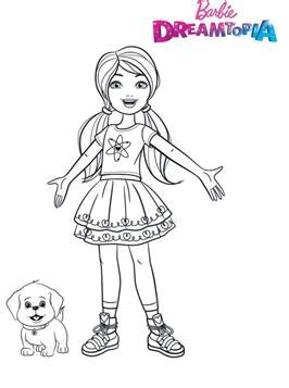 barbie dreamhouse adventures colouring pages  barbie pictures