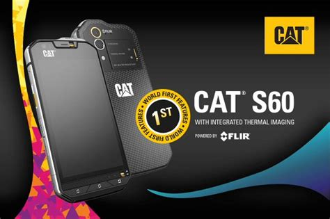 Predator, Meet Cat S60, The World's First Phone With