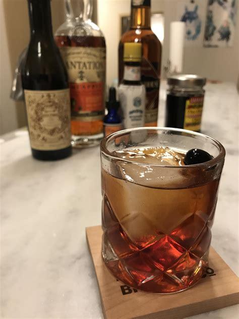 Vieux Annas : cocktails