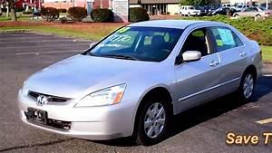 2003 Honda Accord Lx Sedan 4dr 4cyl Vtec At Only 62k Miles
