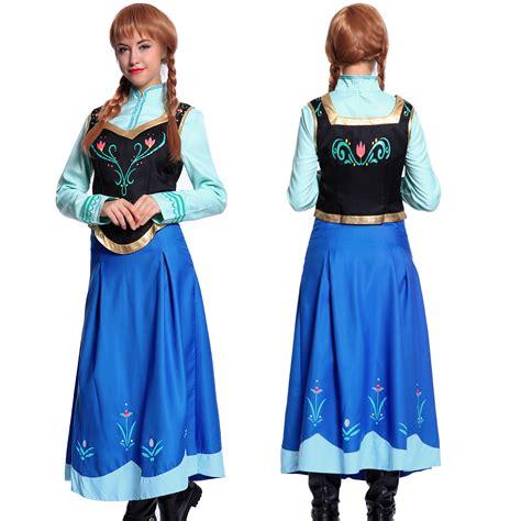 und elsa kostüm damen damen elsa kleider kost 252 m dress eisk 246 nigin prinzessin s m l ebay