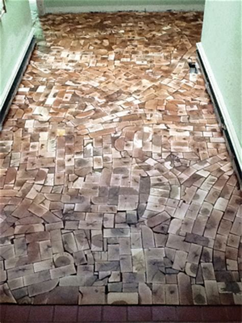 Kids Install End Grain Floor With One of Industry's Best