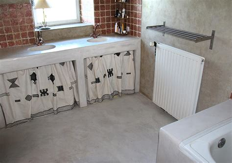 plan travail cuisine beton cire sols en béton ciré entreprise les ateliers de vérone