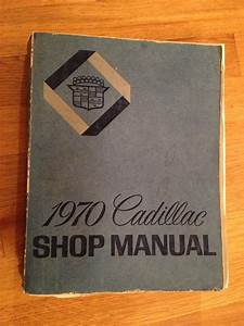 1970 Cadillac Shop Manual