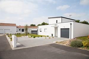 parvis garage moderne garage nantes par jardins de With allee de garage moderne