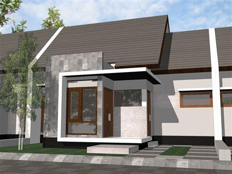 desain teras rumah minimalis type  tetap terlihat modern