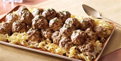 swedish meatballs  egg noodles safeway