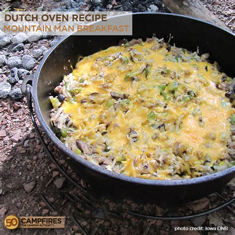 dutchoven recipes mountain man breakfast in a dutch oven 50 cfires