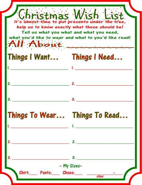 1000+ ideas about Christmas List Printable on Pinterest